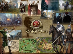 Download the Ten years of Tribal Wars wallpaper