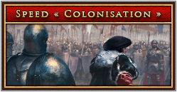 Speed Colonisation